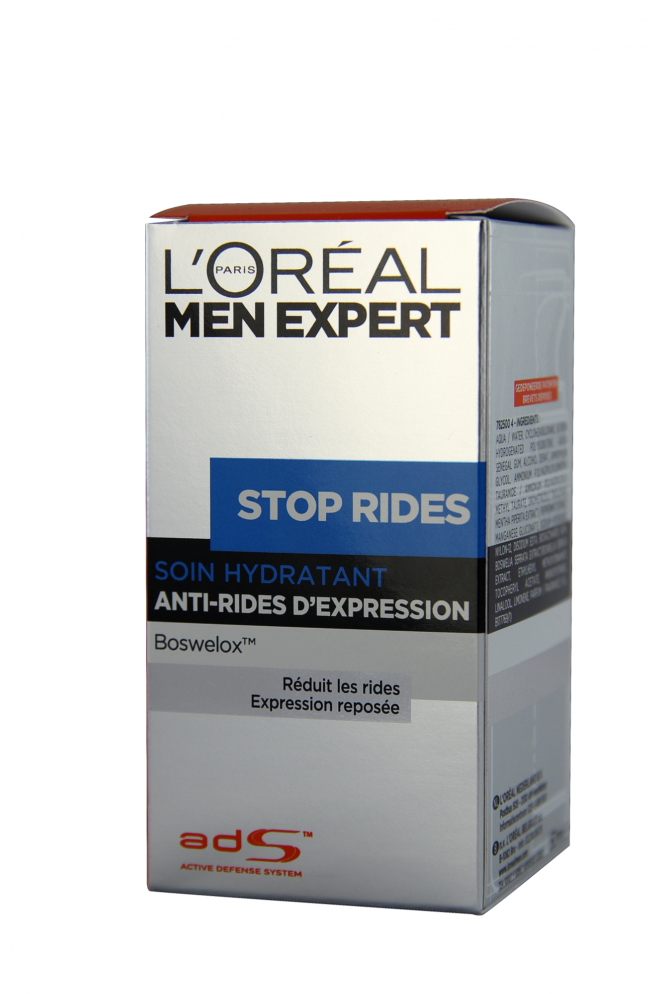 L'Oréal Men Expert - Stop Rides Soin Hydratant Anti-Rides D'expression Boswelox