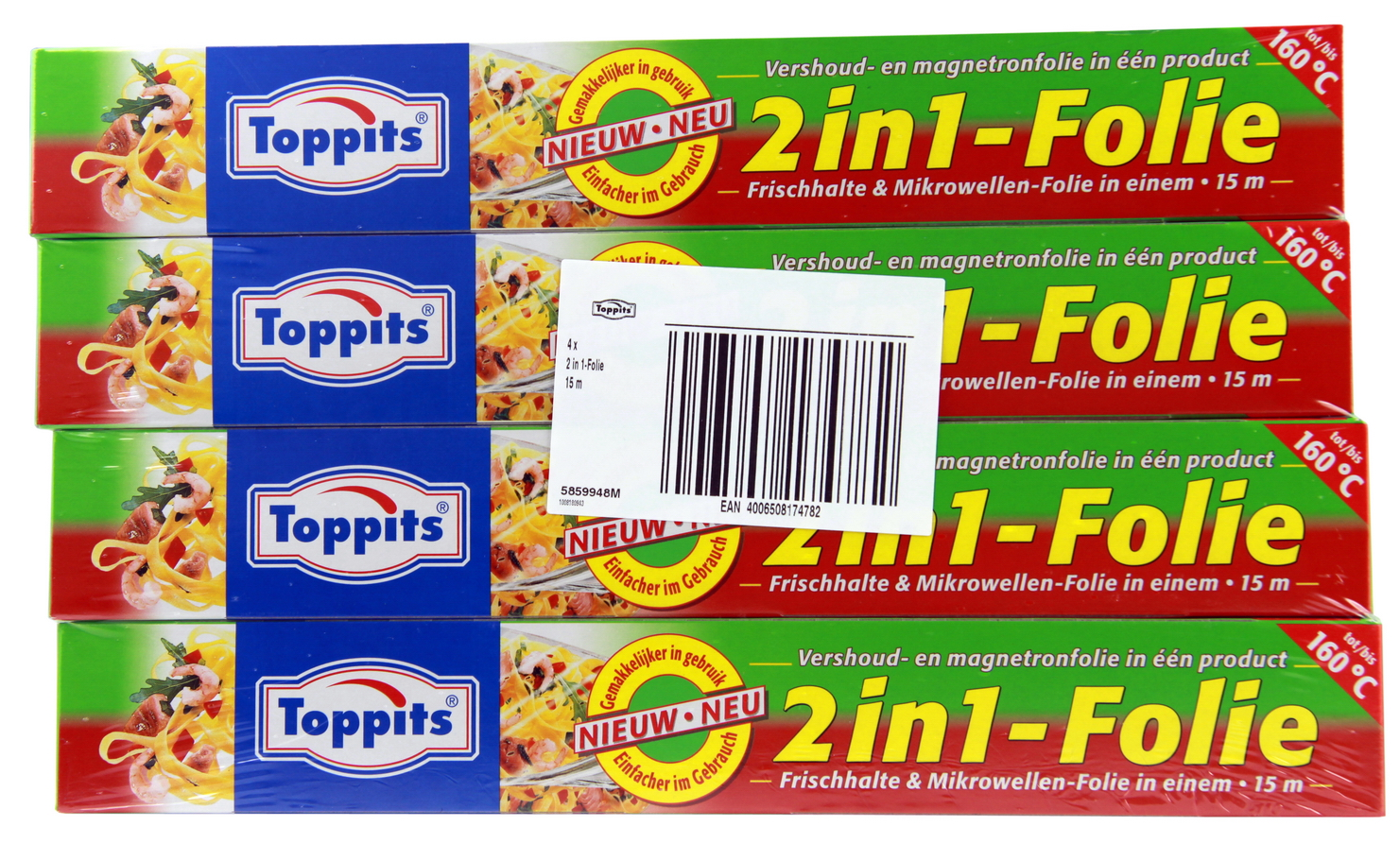 Toppits 2in1 Folie