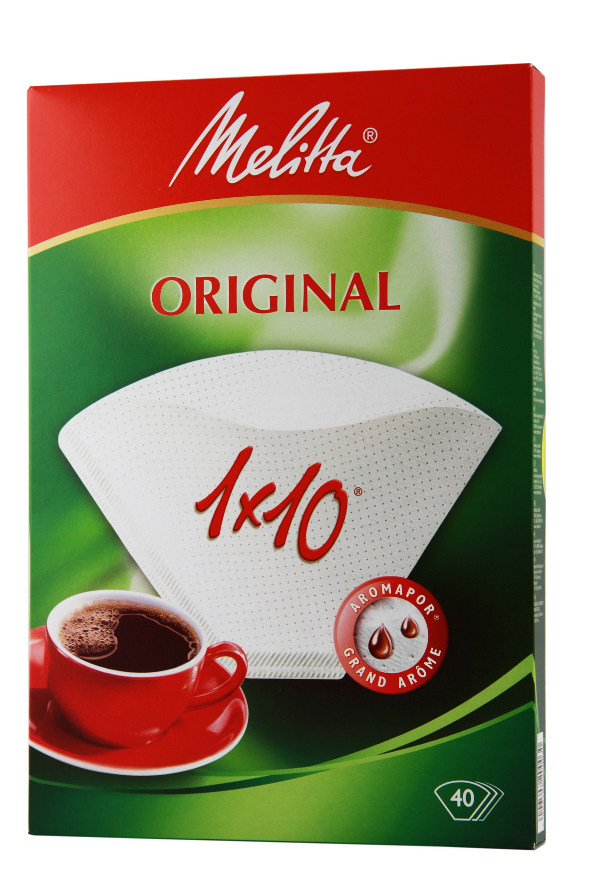 In Petto Messeservice (Düsseldorf, Essen, Köln) Melitta Original 1×10 40Stk