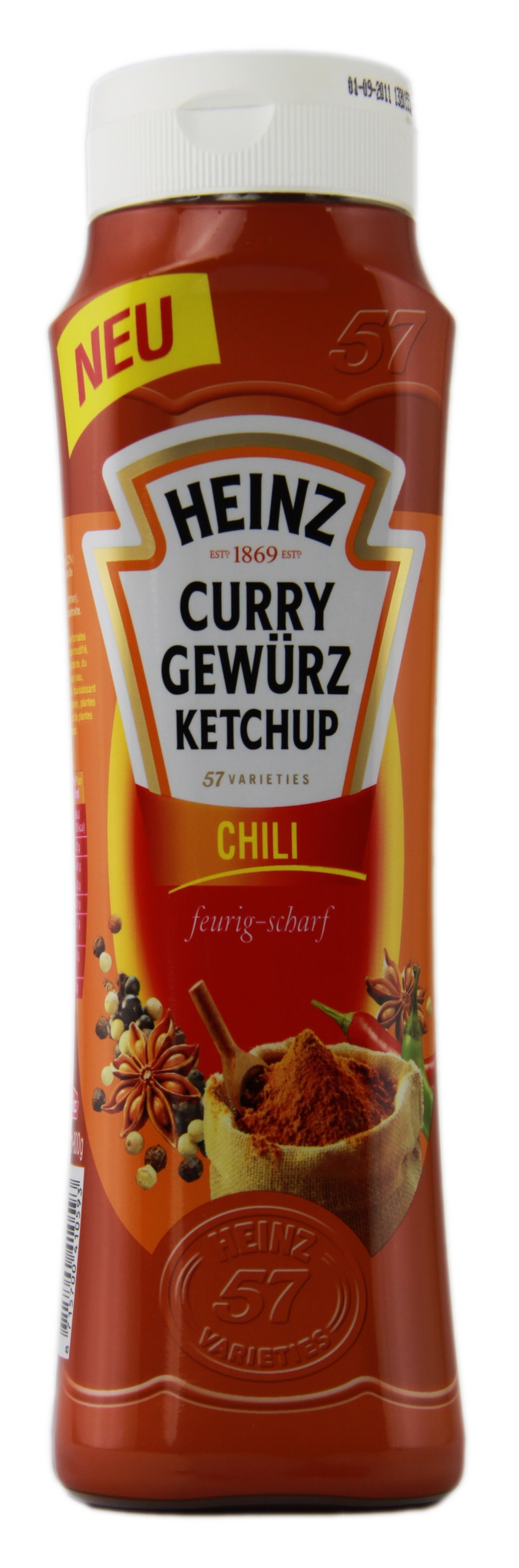 Heinz Curry Gewürz Ketchup Chili