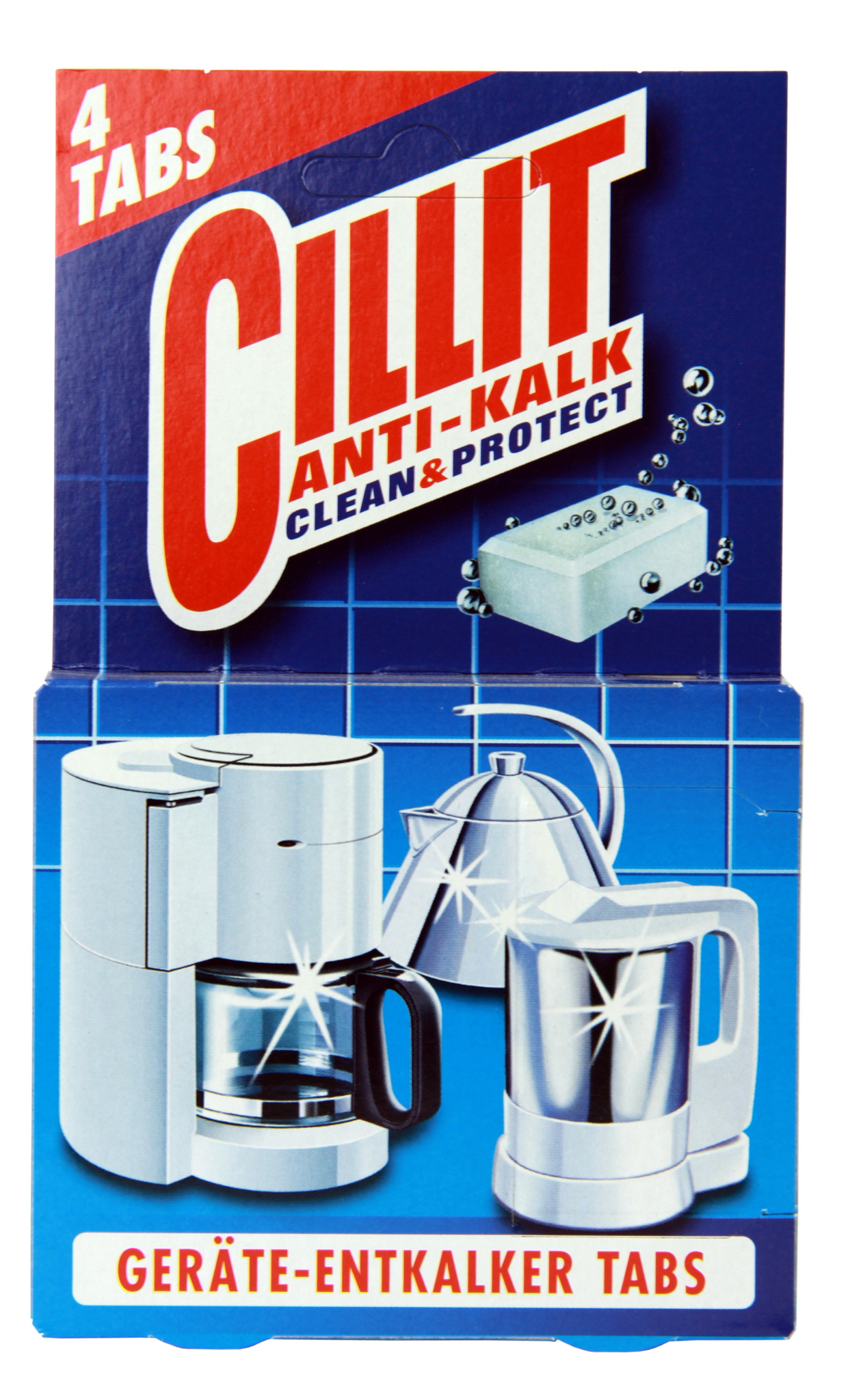 Cillit Anti Kalk Clean&Protect 4 Tabs